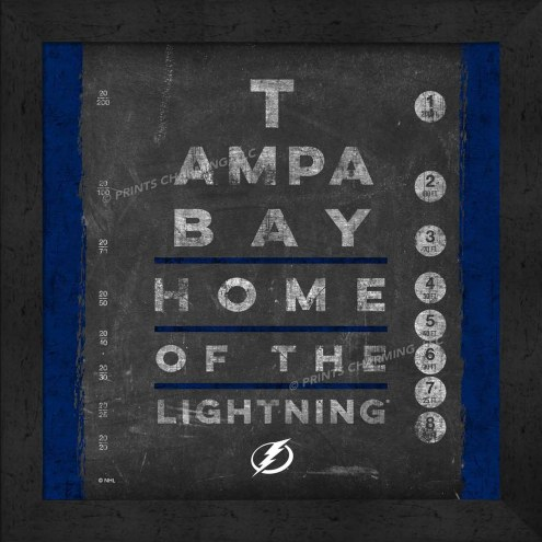 Tampa Bay Lightning Eye Chart