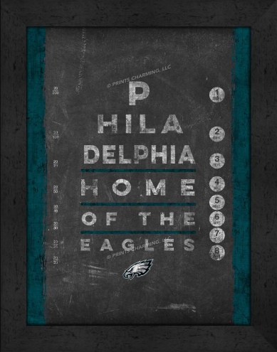Philadelphia Eagles Eye Chart