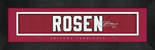 Arizona Cardinals Rosen Framed Signature Nameplate