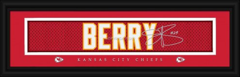 Kansas City Chiefs Berry Framed Signature Nameplate
