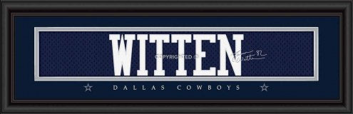 Dallas Cowboys Witten Framed Signature Nameplate