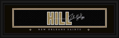 New Orleans Saints Hill Framed Signature Nameplate