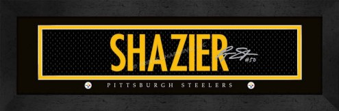 Pittsburgh Steelers Shazier Framed Signature Nameplate