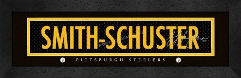 Pittsburgh Steelers Smith Framed Signature Nameplate