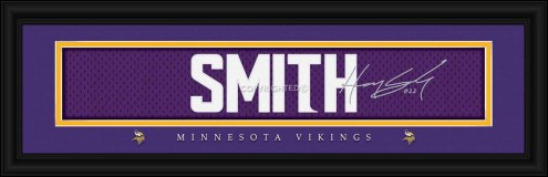 Minnesota Vikings Smith Framed Signature Nameplate