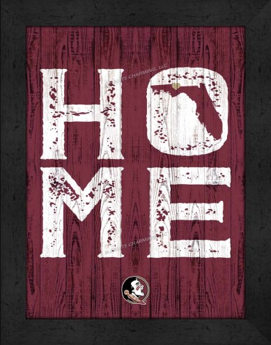 Florida State Seminoles Home Away From Home Wall Decor