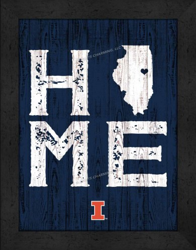 Illinois Fighting Illini Home Away From Home Wall Decor
