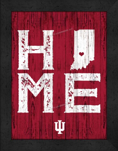 Indiana Hoosiers Home Away From Home Wall Decor