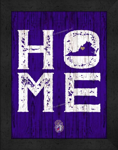 James Madison Dukes Home Away From Home Wall Decor