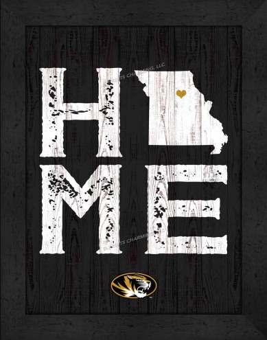 Missouri Tigers Home Away From Home Wall Decor