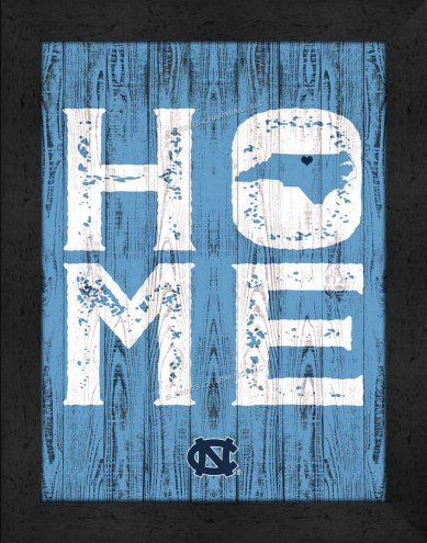 North Carolina Tar Heels Home Away From Home Wall Decor