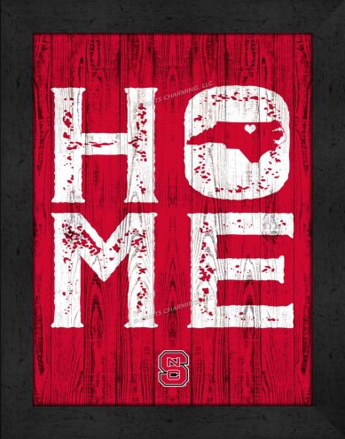 North Carolina State Wolfpack Home Away From Home Wall Decor