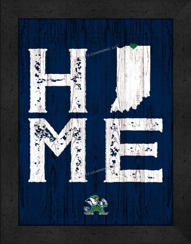 Notre Dame Fighting Irish Home Away From Home Wall Decor