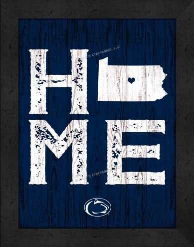 Penn State Nittany Lions Home Away From Home Wall Decor