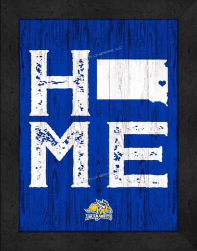 South Dakota State Jackrabbits Home Away From Home Wall Decor