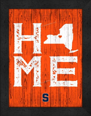 Syracuse Orange Home Away From Home Wall Decor