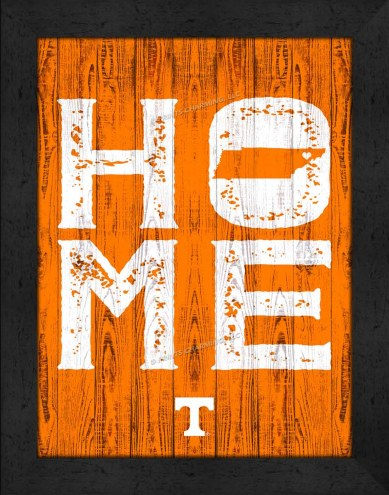 Tennessee Volunteers Home Away From Home Wall Decor