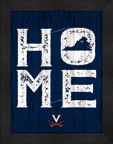 Virginia Cavaliers Home Away From Home Wall Decor