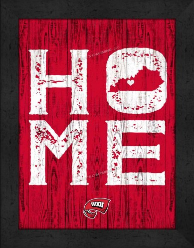 Western Kentucky Hilltoppers Home Away From Home Wall Decor
