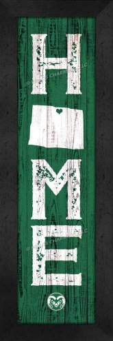 Colorado State Rams Home Away From Home Wall Decor