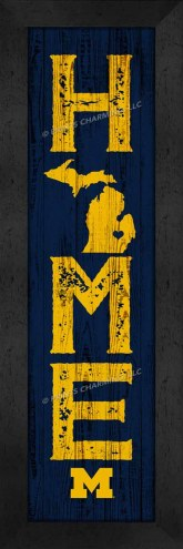 Michigan Wolverines Home Away From Home Wall Decor