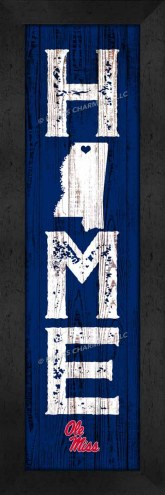 Mississippi Rebels Home Away From Home Wall Decor