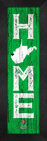 Marshall Thundering Herd Home Away From Home Wall Decor