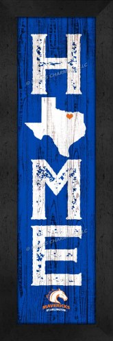 Texas-Arlington Mavericks Home Away From Home Wall Decor