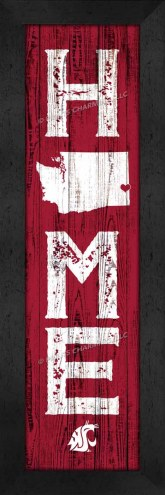 Washington State Cougars Home Away From Home Wall Decor