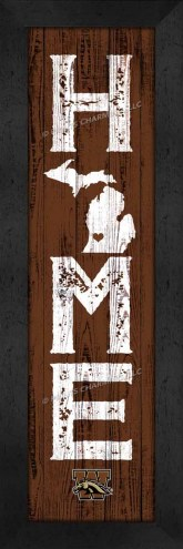 Western Michigan Broncos Home Away From Home Wall Decor