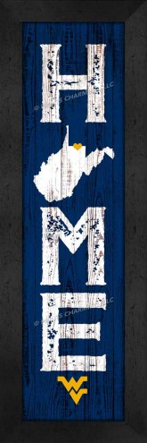 West Virginia Mountaineers Home Away From Home Wall Decor
