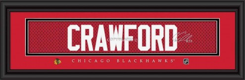 Chicago Blackhawks Crawford Framed Signature Nameplate