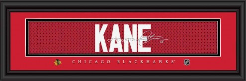 Chicago Blackhawks Kane Framed Signature Nameplate
