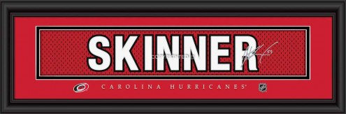 Carolina Hurricanes Skinner Framed Signature Nameplate