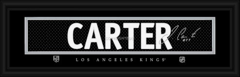 Los Angeles Kings Carter Framed Signature Nameplate
