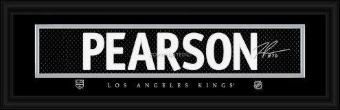 Los Angeles Kings Pearson Framed Signature Nameplate