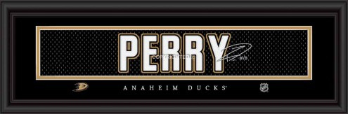 Anaheim Ducks Perry Framed Signature Nameplate
