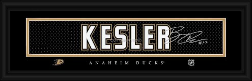 Anaheim Ducks Kesler Framed Signature Nameplate