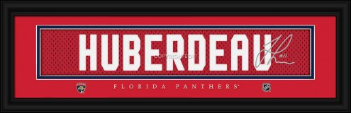 Florida Panthers Huberdeau Framed Signature Nameplate