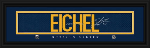 Buffalo Sabres Eichel Framed Signature Nameplate