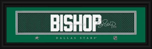 Dallas Stars Bishop Framed Signature Nameplate
