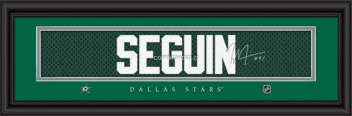 Dallas Stars Seguin Framed Signature Nameplate