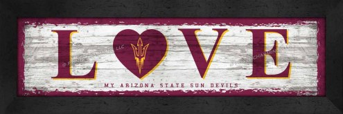 Arizona State Sun Devils Love My Team Wall Decor