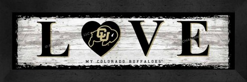 Colorado Buffaloes Love My Team Wall Decor