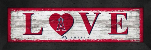 Los Angeles Angels Love My Team Wall Decor