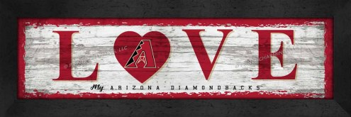 Arizona Diamondbacks Love My Team Wall Decor