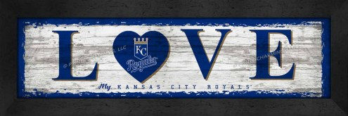 Kansas City Royals Love My Team Wall Decor