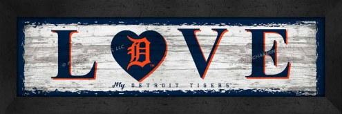 Detroit Tigers Love My Team Wall Decor