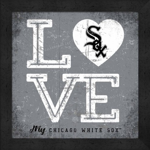 Chicago White Sox Love My Team Color Wall Decor