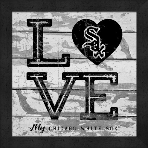 Chicago White Sox Love My Team Square Wall Decor